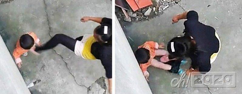 Хятад ээжийн аймшигт хэрэг (бичлэг)